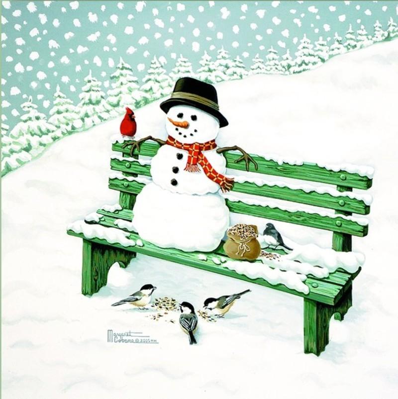 Bonhomme de neige - Dessin bonhomme assis ...